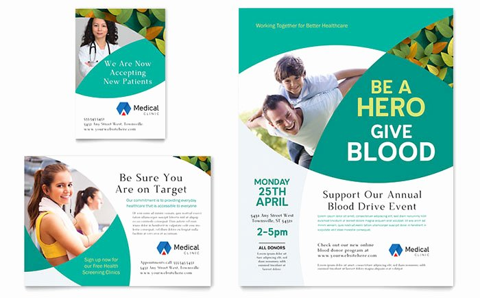 1/4 Page Flyer Template Free Awesome Doctor S Fice Flyer & Ad Template Design