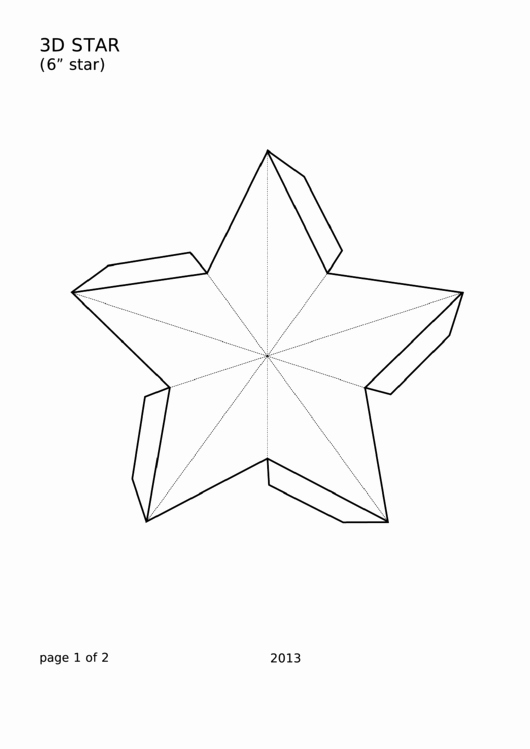 1 Inch Star Template Awesome 49 Star Templates Free to In Pdf