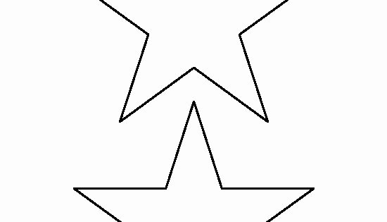 1 Inch Star Template Best Of 5 Inch Star Pattern Use the Printable Outline for Crafts