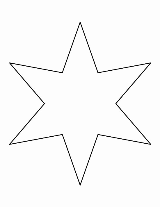 1 Inch Star Template Elegant the 25 Best Star Template Ideas On Pinterest