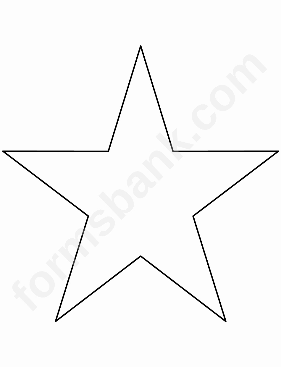 1 Inch Star Template Fresh 8 Inch Star Template Printable Pdf