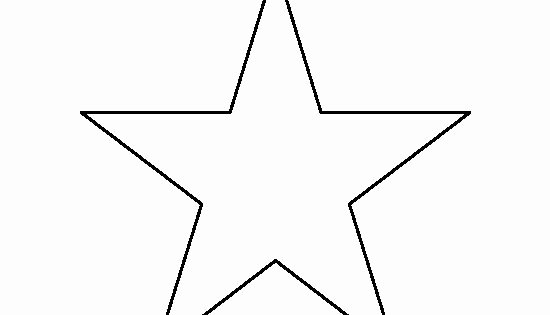 1 Inch Star Template Lovely 6 Inch Star Pattern Use the Printable Outline for Crafts