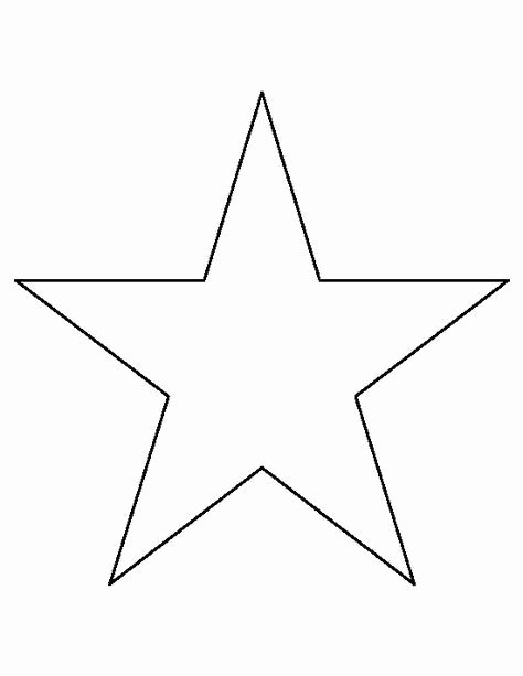 1 Inch Star Template New Best 25 Star Template Printable Ideas On Pinterest