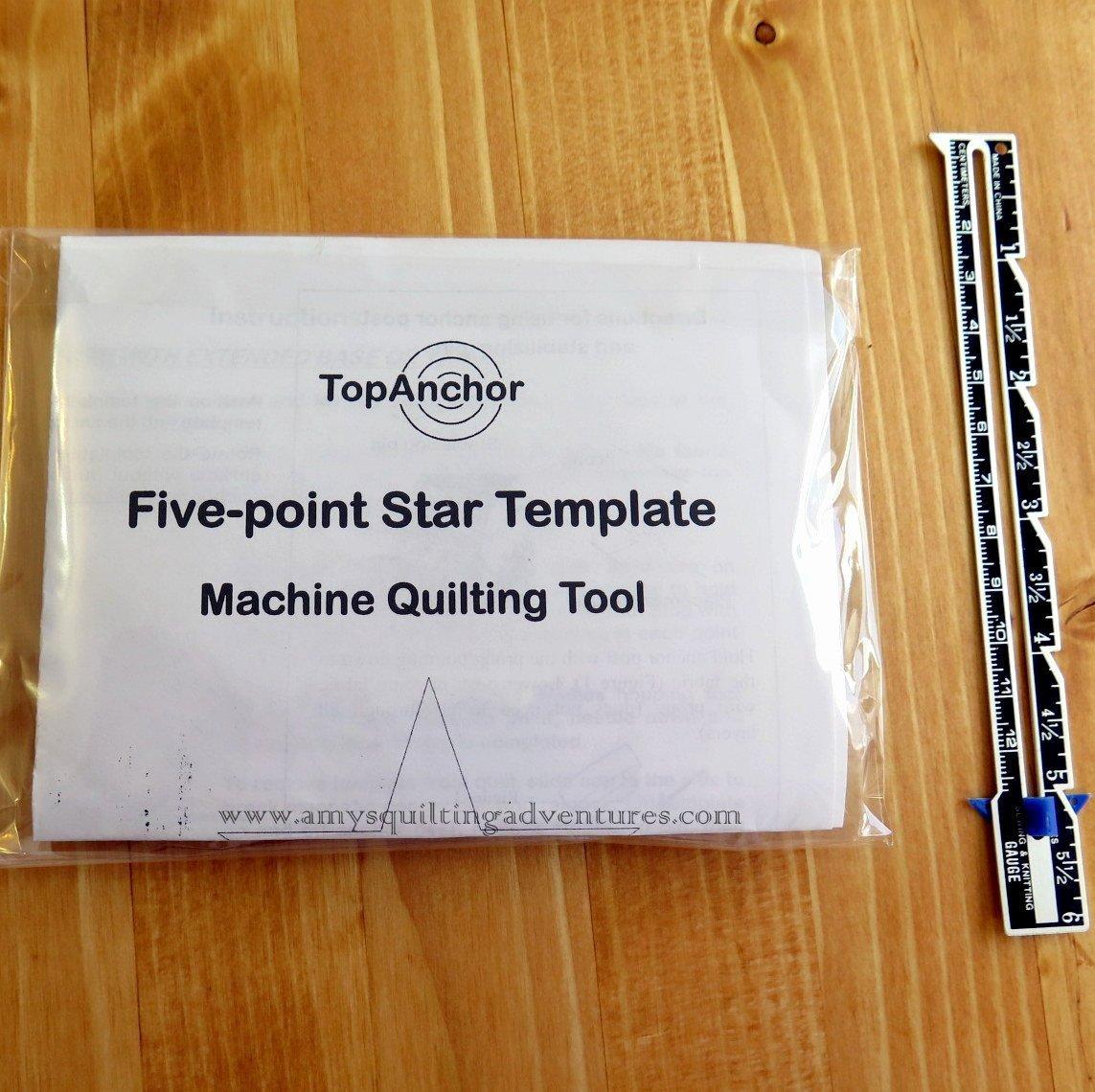 10 Inch Star Template Beautiful topanchor Five Point Star 6 Inch