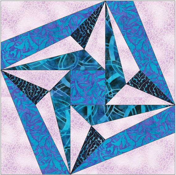 10 Inch Star Template Best Of Folded Star Paper Piece Templates Quilting Block Pattern