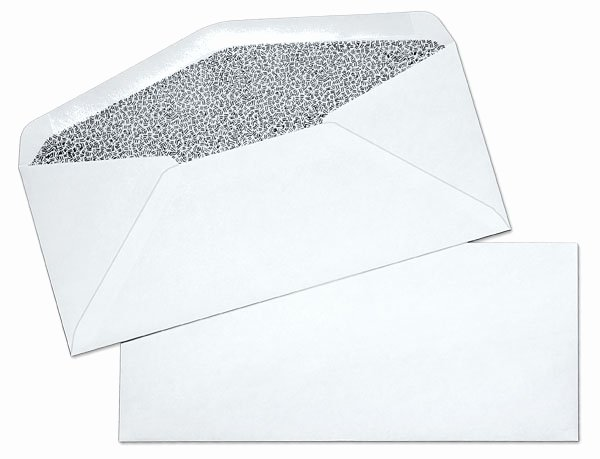 10 Window Envelope Template Pdf Awesome 10 24lb White Wove Regular Black Inside Tint