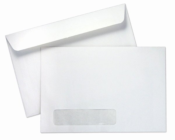 10 Window Envelope Template Pdf Awesome 6 X 9 Booklet 24lb White Wove Standard Window