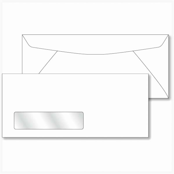 10 Window Envelope Template Pdf Beautiful 10 White Window Envelopes with Fast and Free Shipping