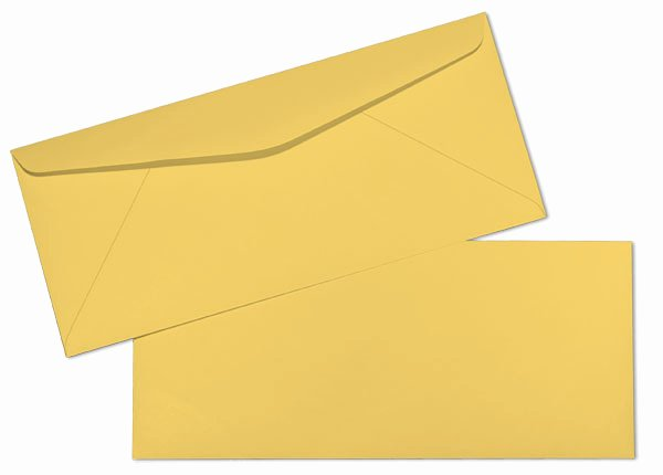 10 Window Envelope Template Pdf Luxury 10 24lb Goldenrod Springhill Bond Regular