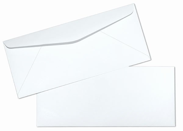 10 Window Envelope Template Pdf Unique 10 24lb White Wove Regular Mercial Envelopes