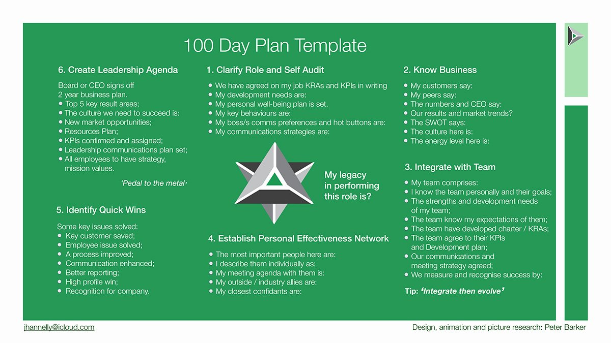 100 Day Plan Template Beautiful First 100 Days
