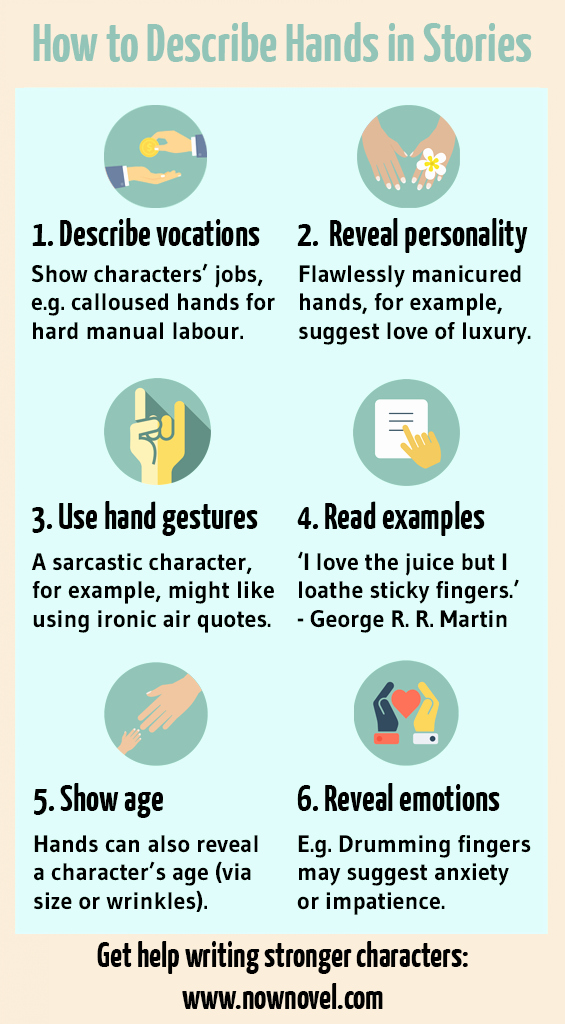 1953 Essay by John Steinbeck Awesome How to Describe Hands 6 Ways to Make Characters Real