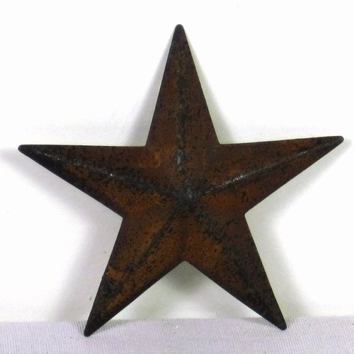 2 Inch Star Beautiful Rusty Tin Cutouts 3 Inch Stars Shapes Craft Supplies