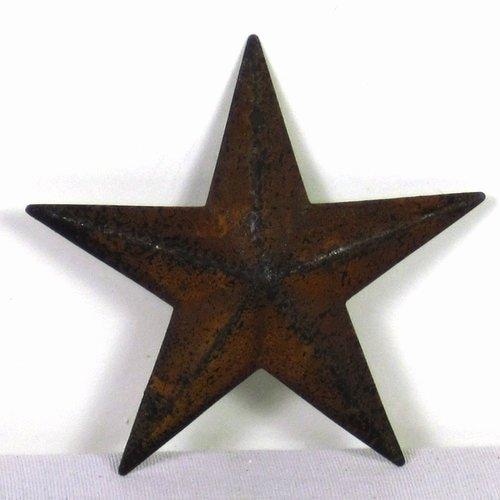 2 Inch Star Beautiful Rusty Tin Cutouts 3 Inch Stars Shapes Craft Supplies