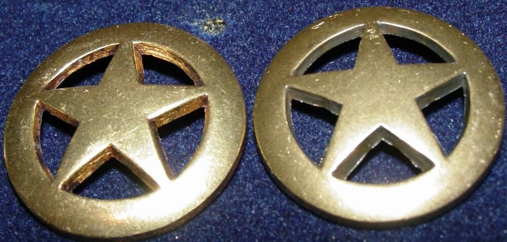 2 Inch Star Lovely 2 3 4 Inch Brass Texas Star Conchos