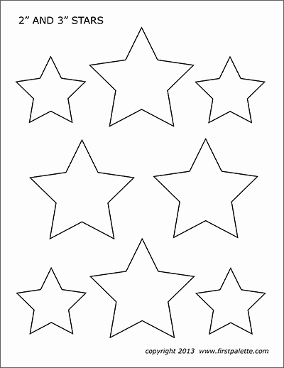 2 Inch Star Lovely Stars