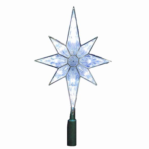 2 Inch Star New Kurt Adler 10 Light 10 1 2 Inch Clear Led 8 Point Star