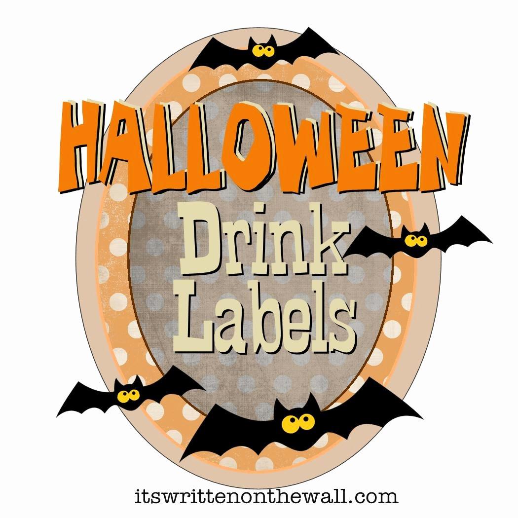 2 Liter Bottle Label Template Elegant Halloween Drink Label – Festival Collections