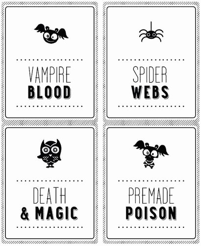 2 Liter Bottle Label Template Elegant Halloween soda Bottle Labels 2 Liter Label Templates