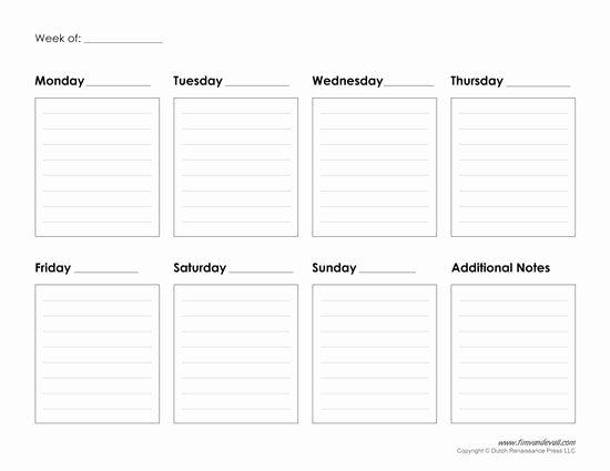 2 Week Calendar Printable Elegant Best 25 Weekly Calendar Template Ideas On Pinterest