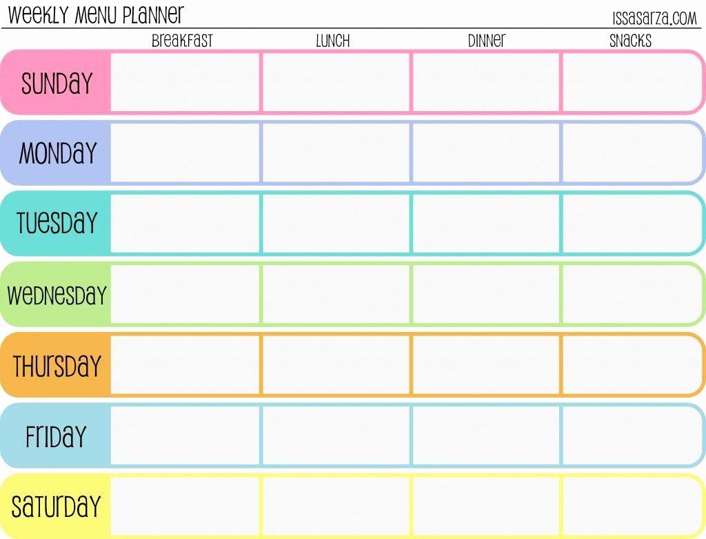 2 Week Schedule Template Fresh Pin by Debbie Erickson On organization