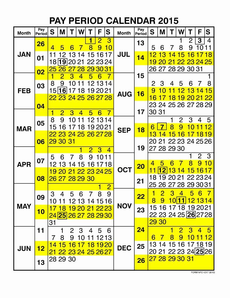 2019 Biweekly Payroll Calendar Excel Inspirational Payroll Calendar Opm