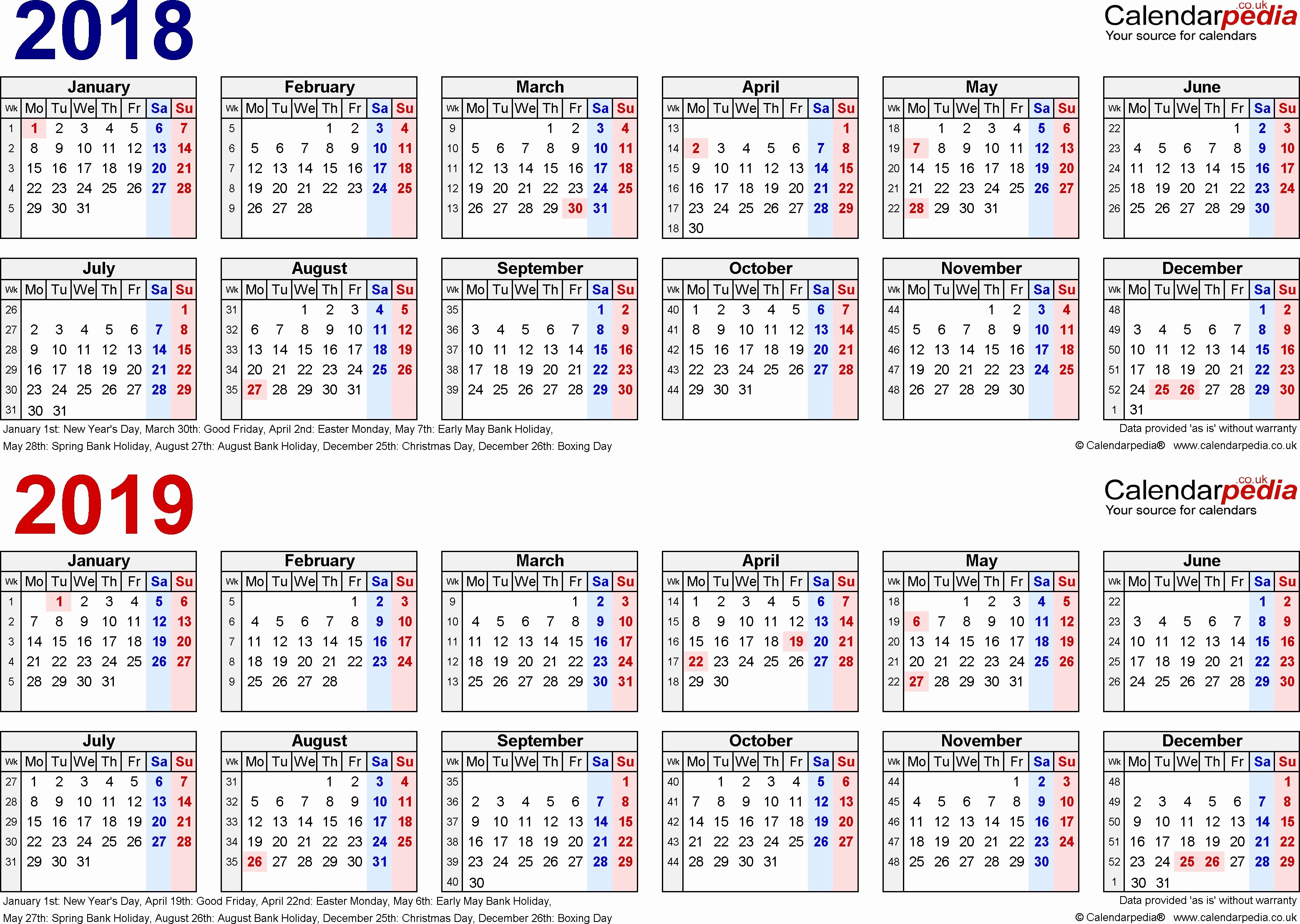2019 Biweekly Payroll Calendar Template Lovely Pay Period Calendar Bi Weekly 2018