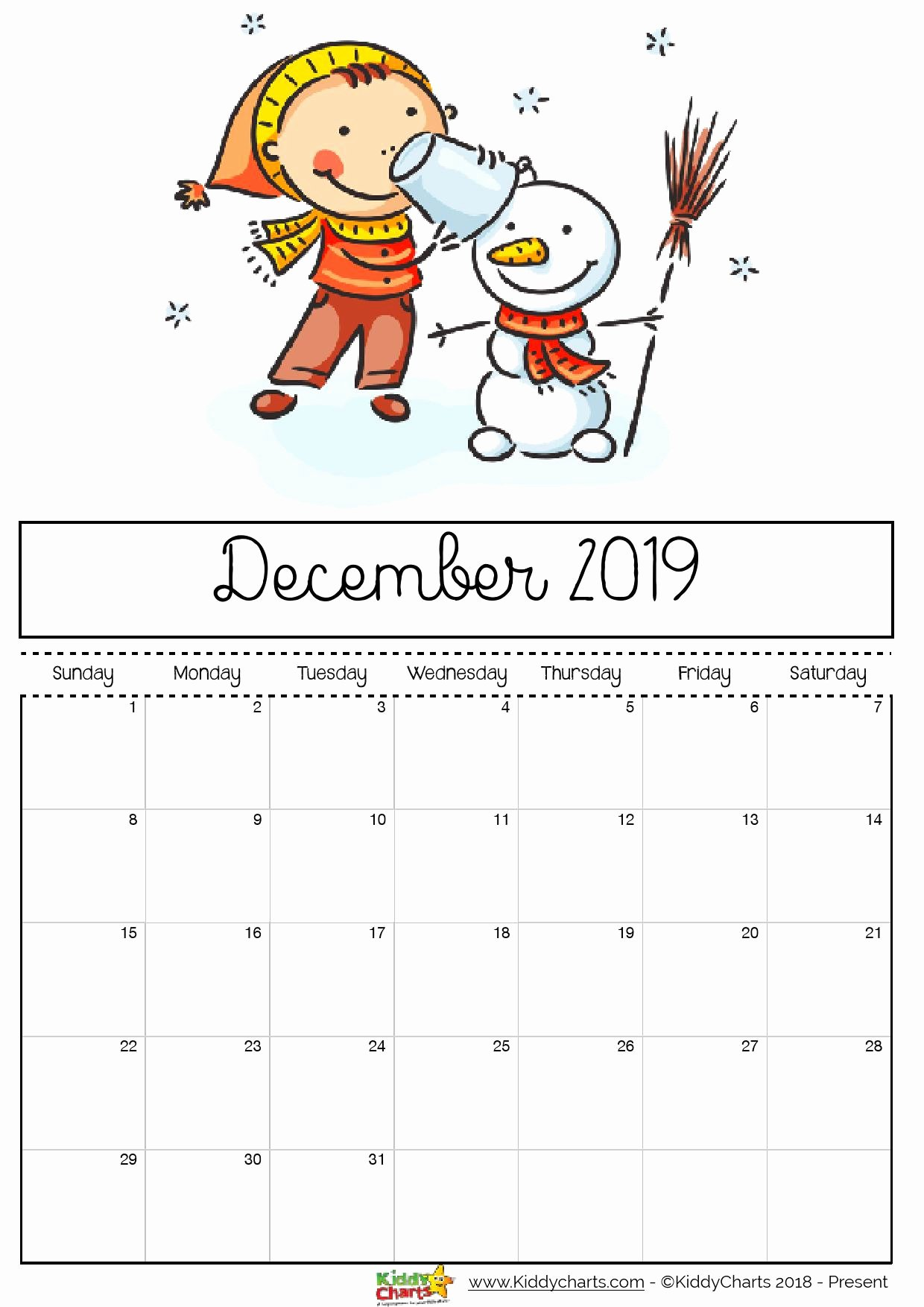 2019 Cute Calendar Printable Luxury Free Printable 2019 Calendar Print Yours Here
