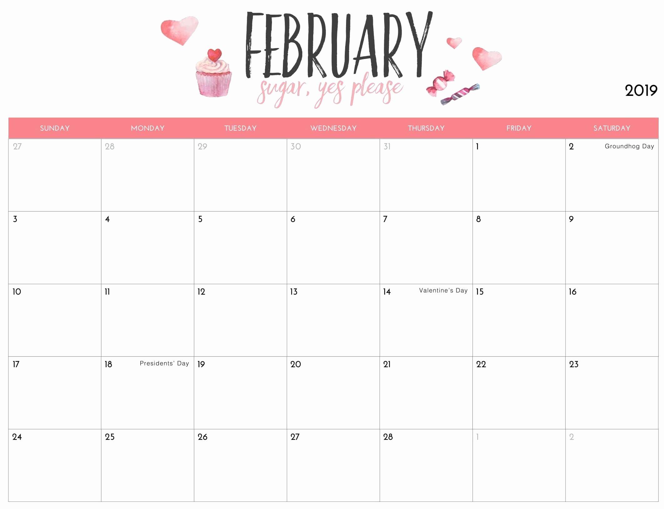 2019 Cute Calendar Printable Luxury Junior Author at 2018 Printable Calendar Store