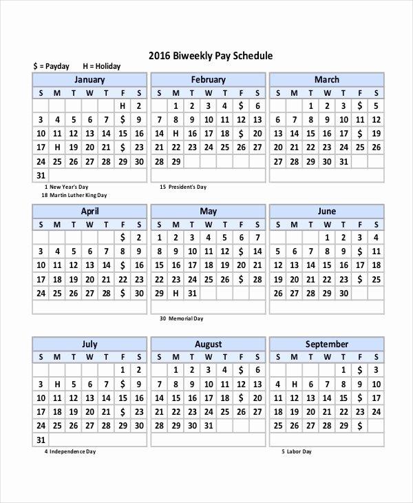 2019 Payroll Calendar Template New Payroll Calendar Template 10 Free Excel Pdf Document