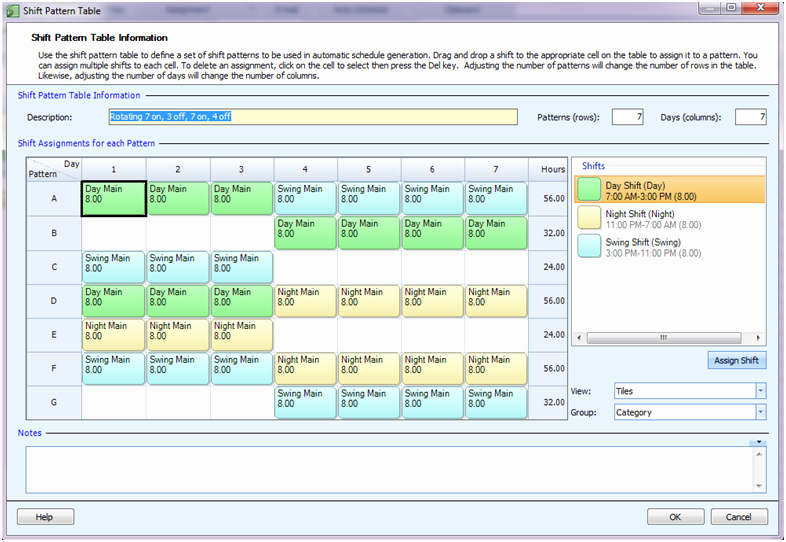 24 7 Shift Schedule Template Beautiful Employee Scheduling Example 24 7 8 Hr Rotating Shifts