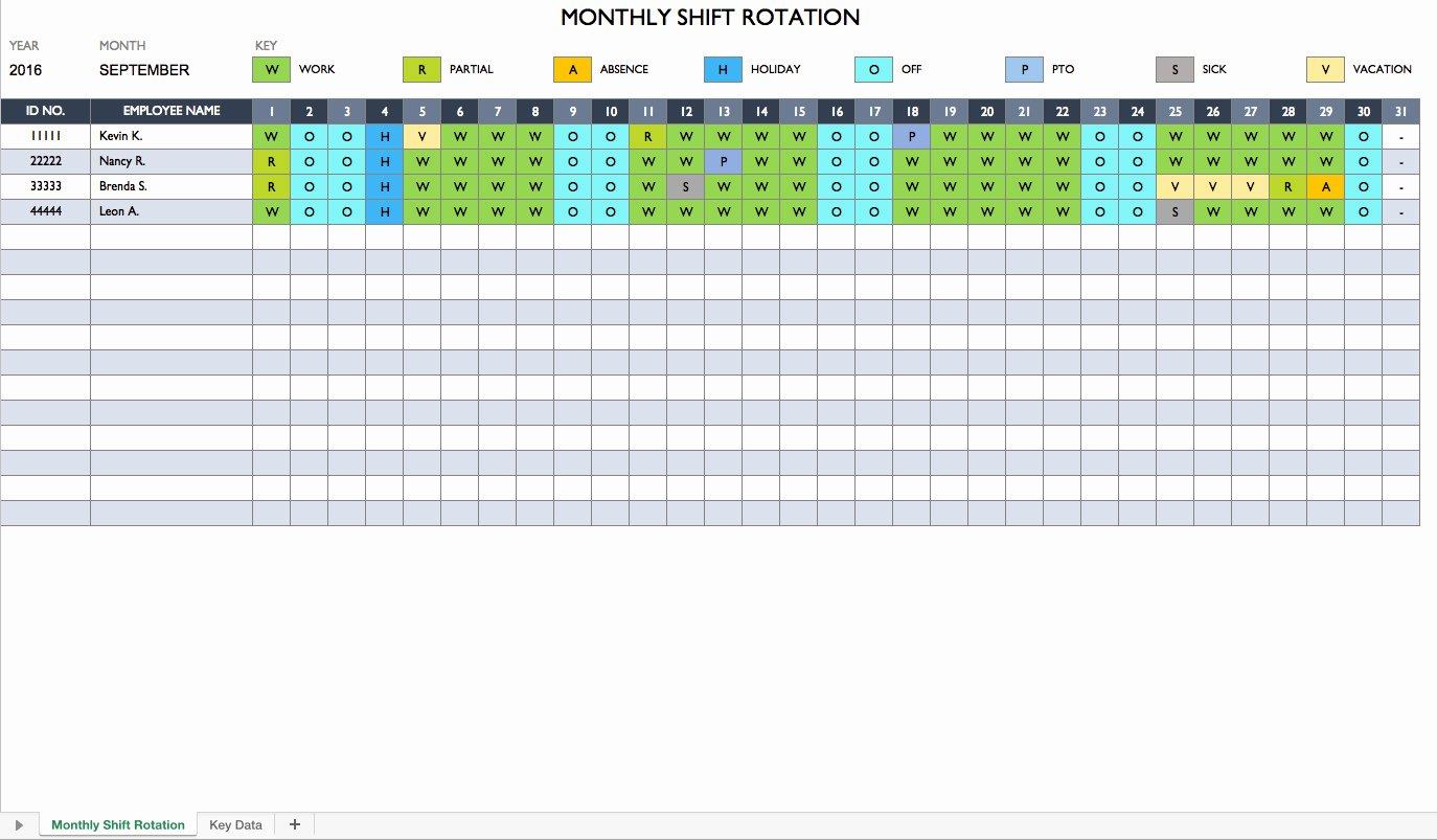 24 7 Shift Schedule Template Best Of 24 7 Shift Schedule Template