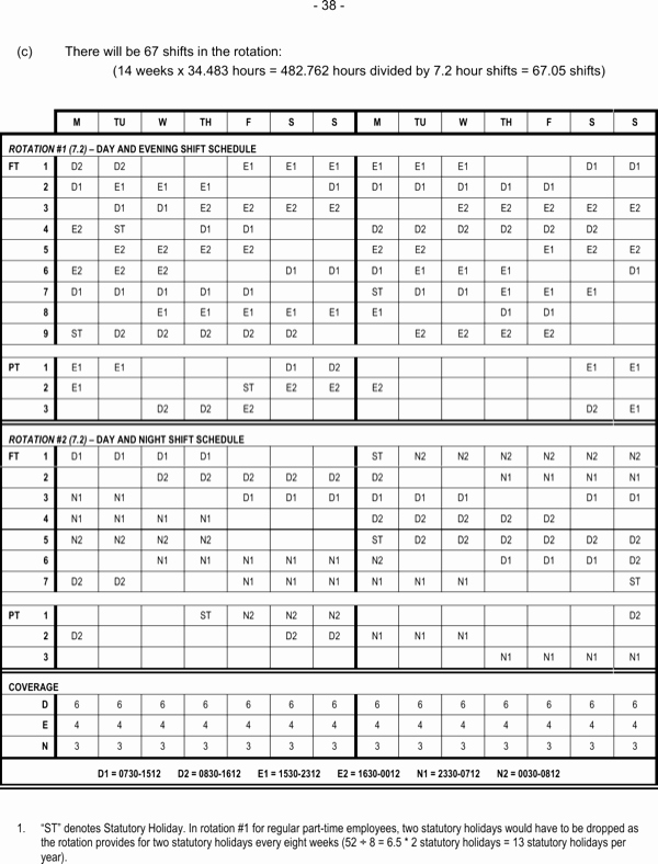 24 7 Shift Schedule Template Lovely Download 24 7 Rotating Shift Schedule Manual Download for