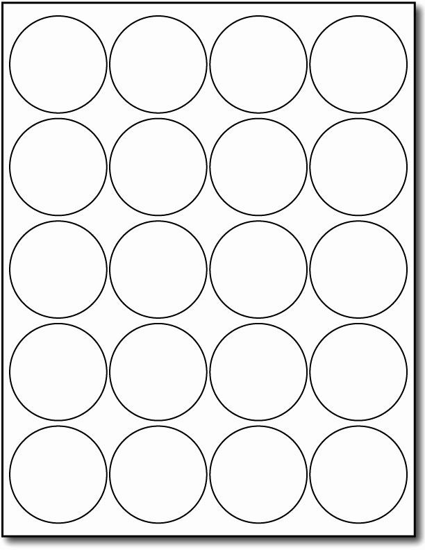 3 Inch Circle Template Printable Best Of 2 Inch Round Label Template