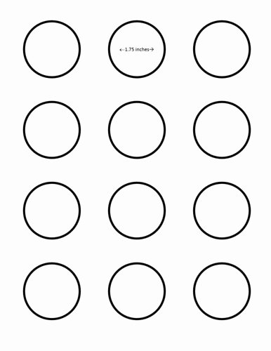 3 Inch Circle Template Printable Fresh Sugarywinzy 1 75 Inch Macaron Template