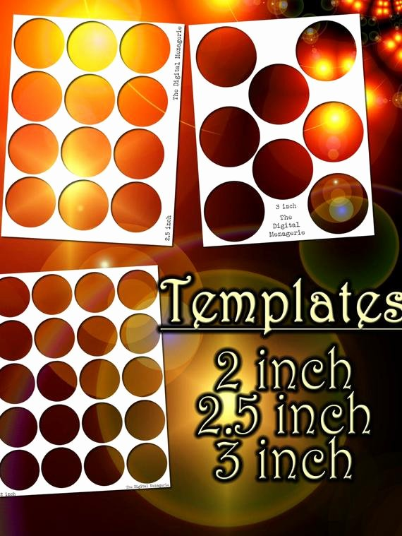 3 Inch Circle Template Printable Luxury Templates 2 2 5 3 Inch Circles 8 5x11 Sheets Png Shop