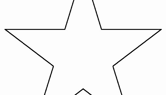 3 Inch Star Template Best Of 8 Inch Star Pattern Use the Printable Outline for Crafts