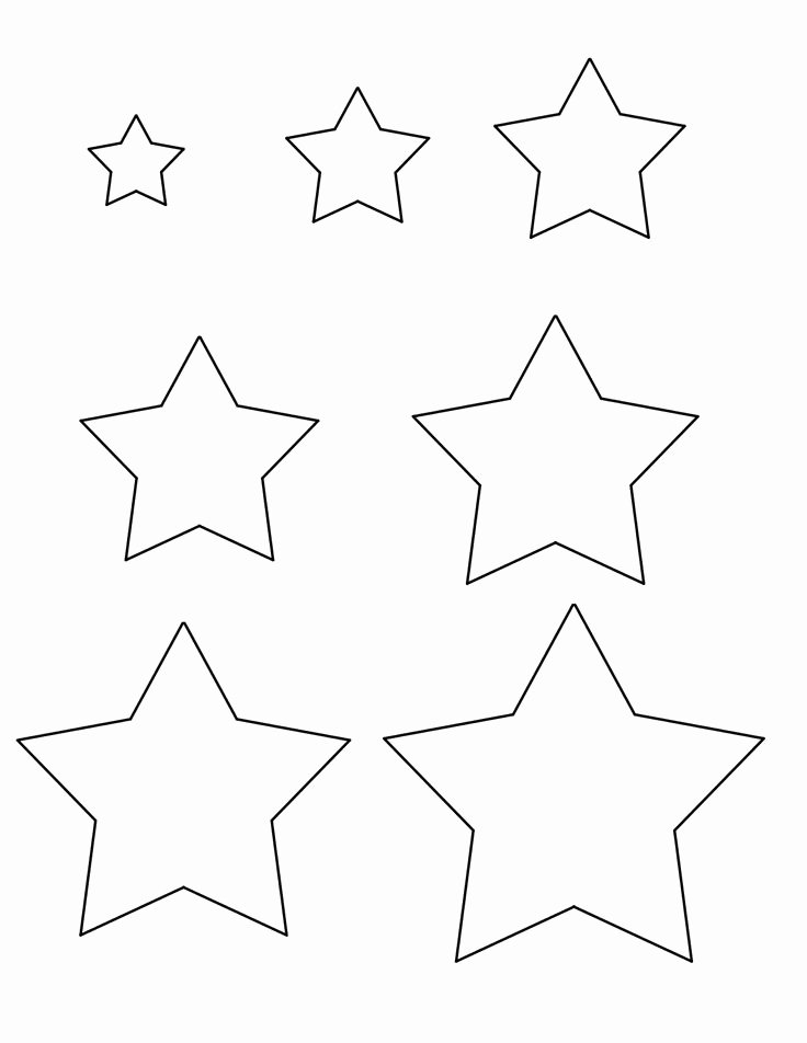 3 Inch Star Template Fresh Pin by Ella On Diy Templates