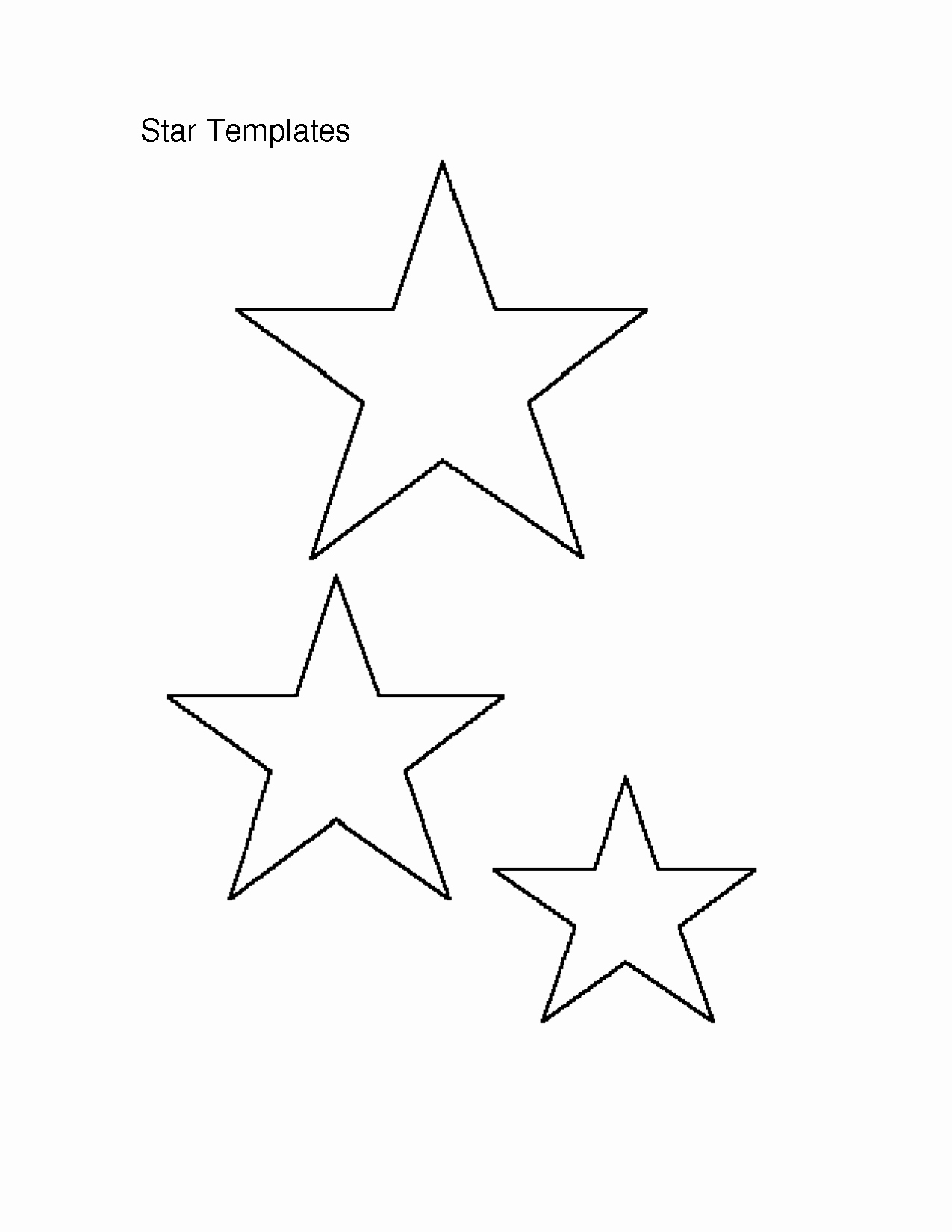 3 Inch Star Template Lovely 7 Best Of Free Printable Star Templates