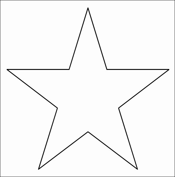 3 Inch Star Template Luxury 12 Best S Of 3d 5 Point Star Template 3d Paper Star