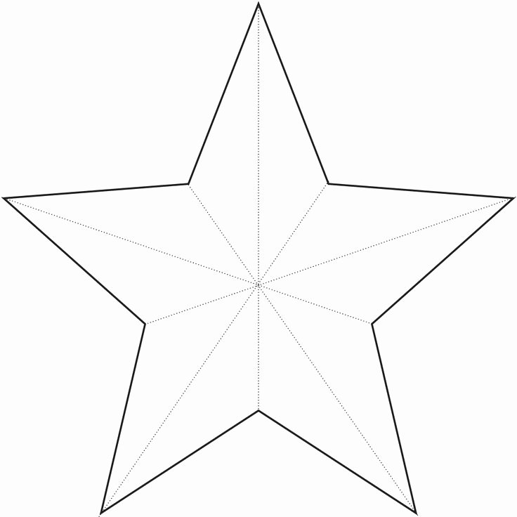 3 Inch Star Template Luxury Star Template Crafts