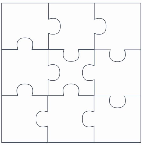 30 Piece Puzzle Template Elegant Free Puzzle Pieces Template Download Free Clip Art Free