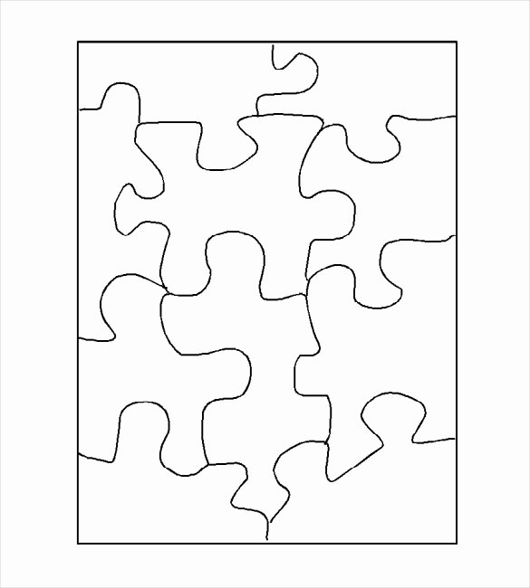 30 Piece Puzzle Template Fresh Jigsaw Worksheet Template the Best Worksheets Image