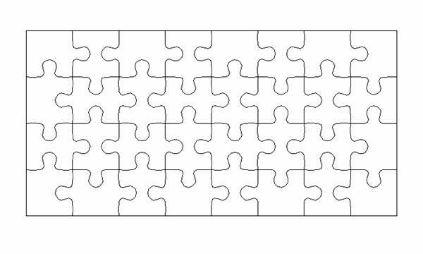 30 Piece Puzzle Template Lovely Designeasy How to Create Puzzle Pieces Template In Adobe