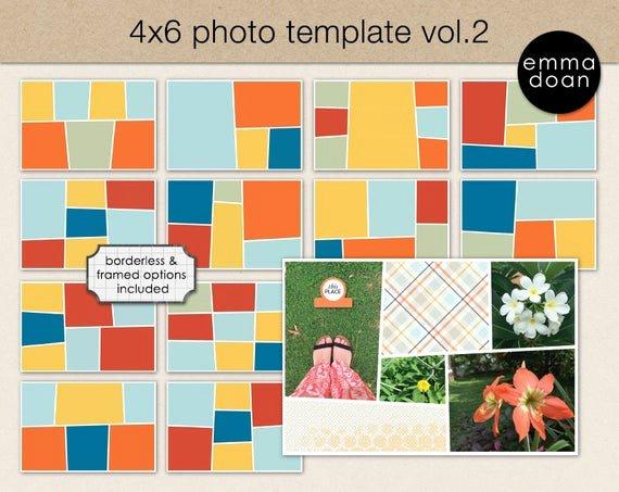 4x6 Photo Template Fresh 4x6 Card Template 4x6 Storyboard Template