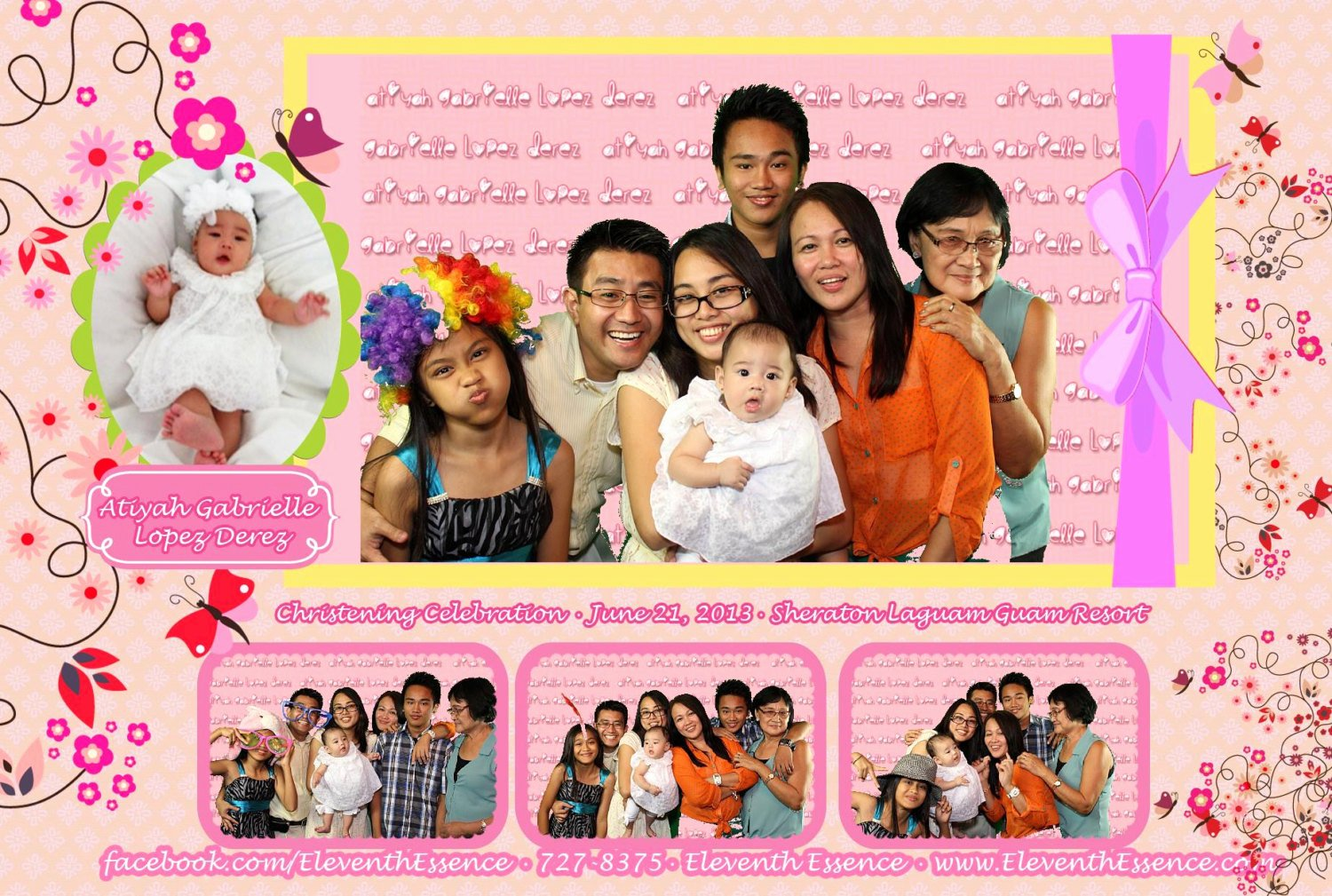 4x6 Photo Template Inspirational 4x6 Photo Booth Template for Christening Birthday or Other