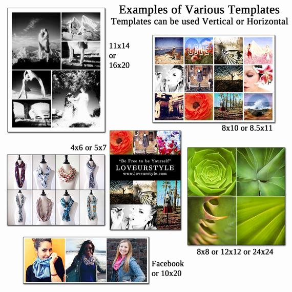 4x6 Photo Template Luxury 4x6 Template Pack 12 Card Templates