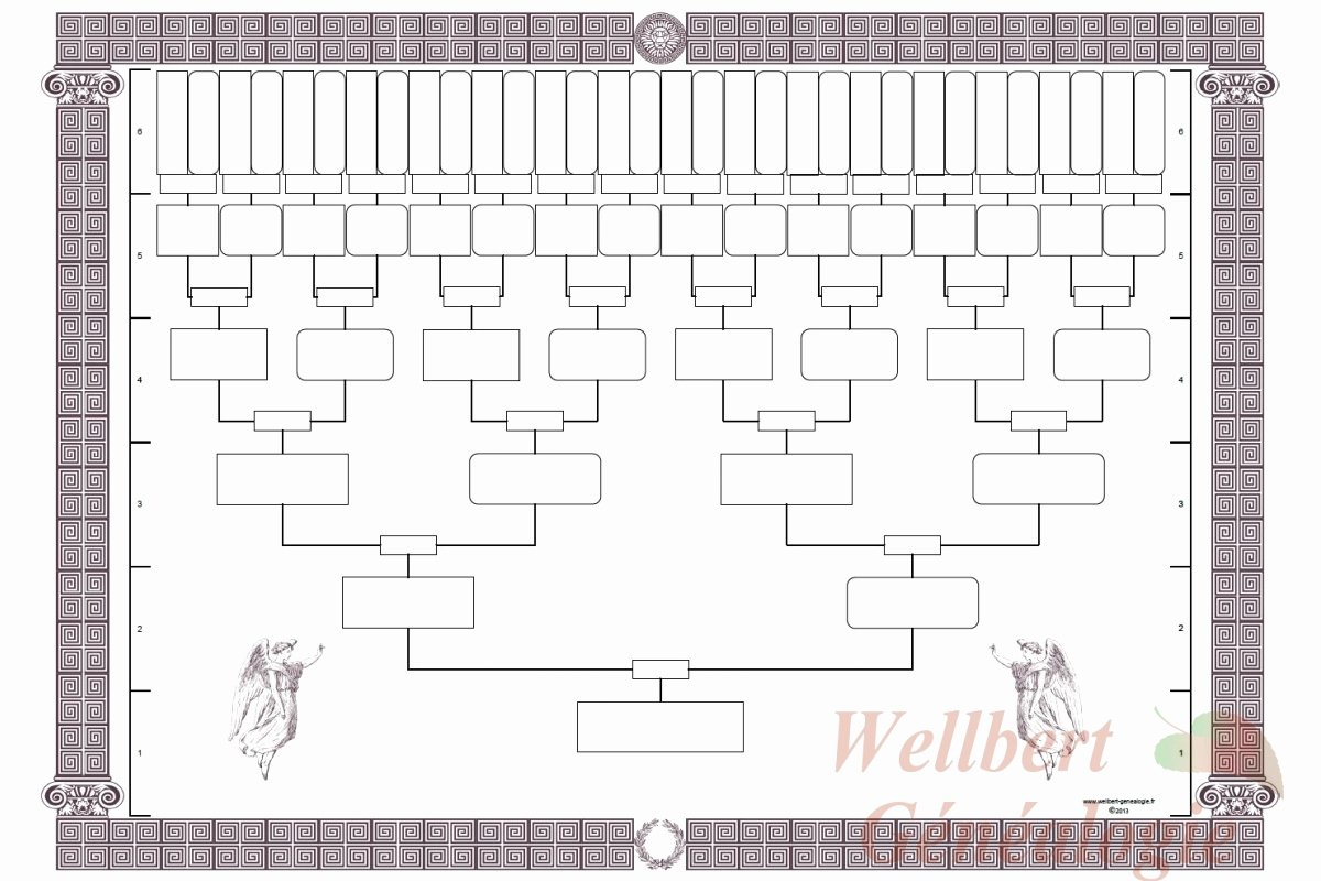 5 Generation Family Tree Template Excel Inspirational Family Tree Template Printable