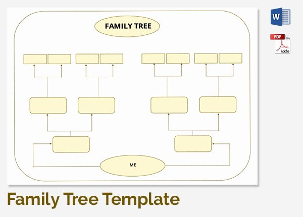 5 Generation Family Tree Template Excel Luxury 25 Family Tree Templates Free Sample Example format