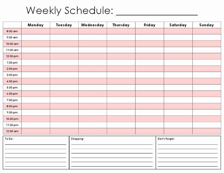 5 Year Maintenance Plan Template Fresh 25 Best Ideas About Schedule Templates On Pinterest